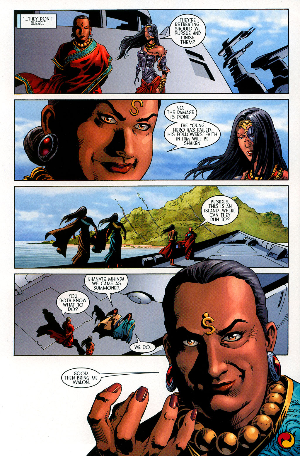 Read online Scion comic -  Issue #41 - 18