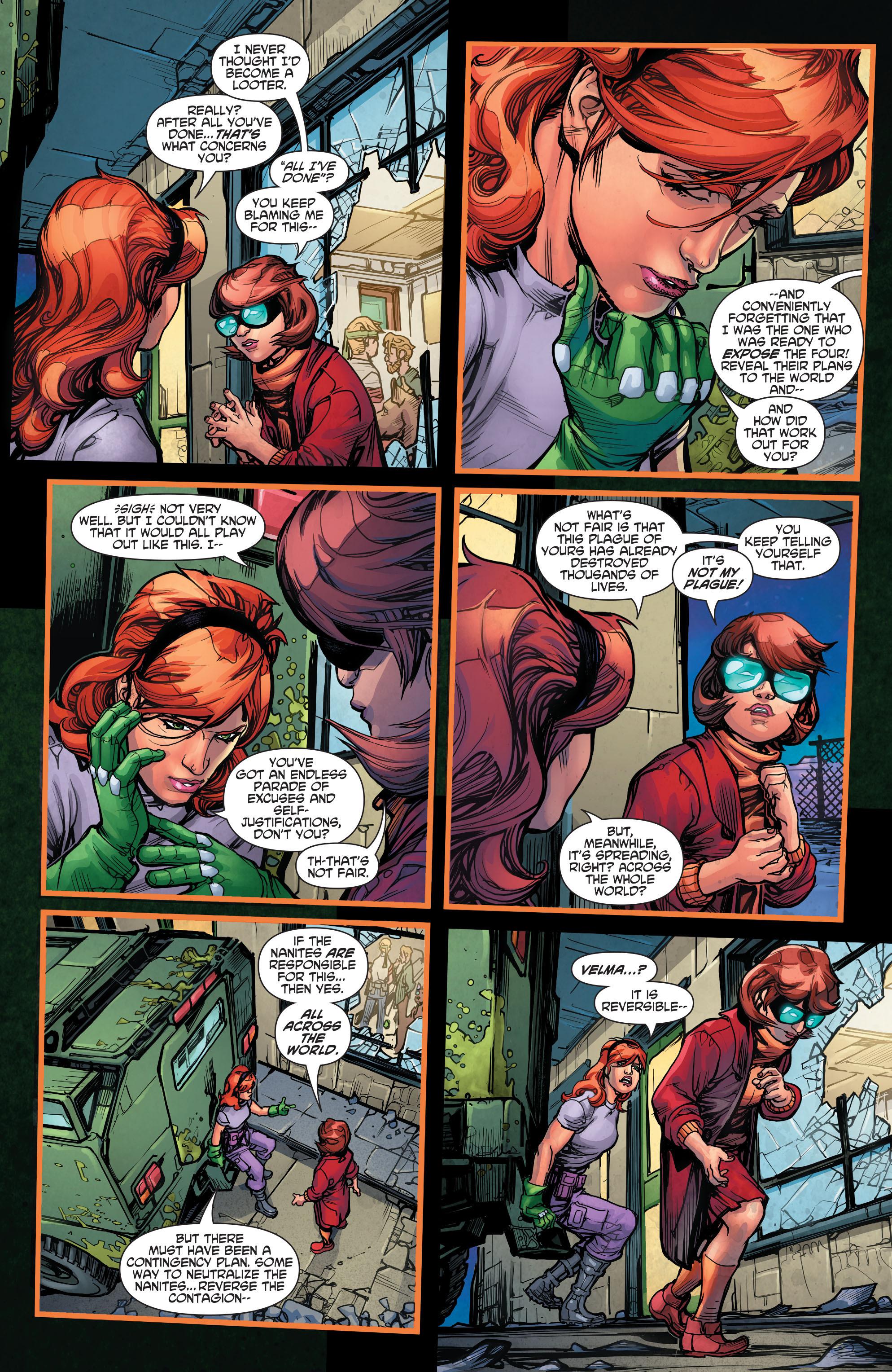 Read online Scooby Apocalypse comic -  Issue #3 - 23