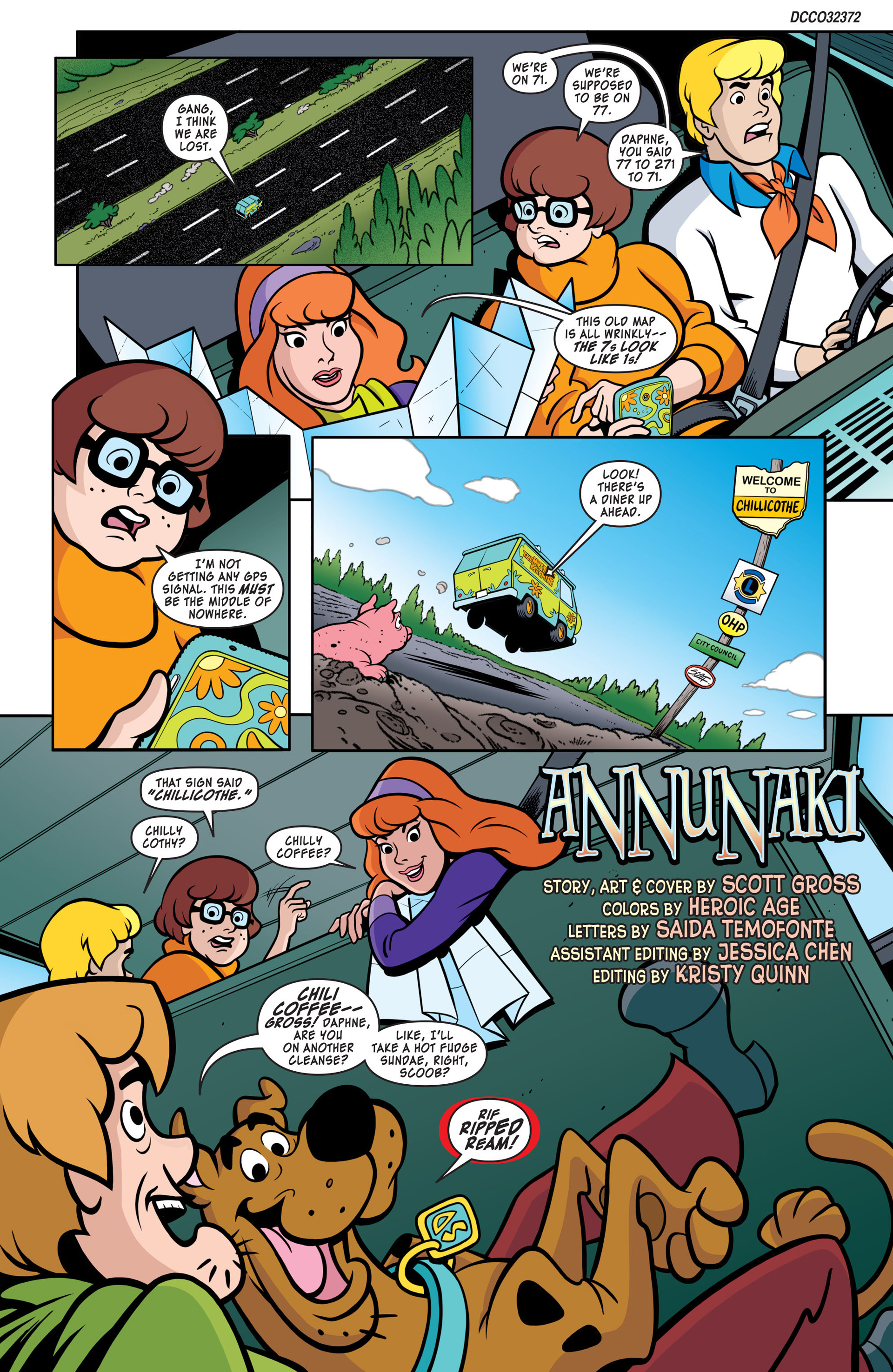 Read online Scooby-Doo: Where Are You? comic -  Issue #41 - 2
