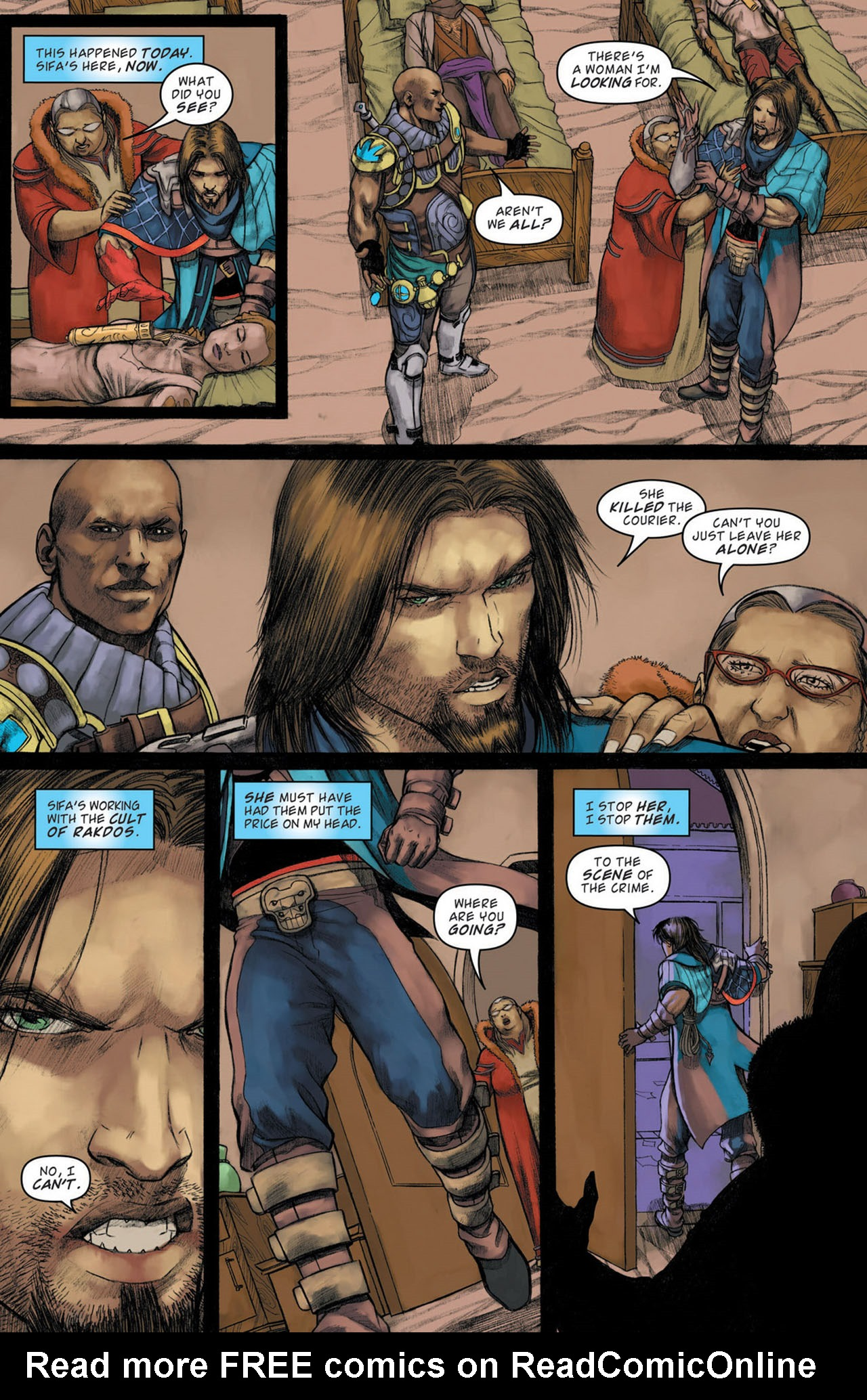 Read online Magic: The Gathering--Path of Vengeance comic -  Issue #1 - 14
