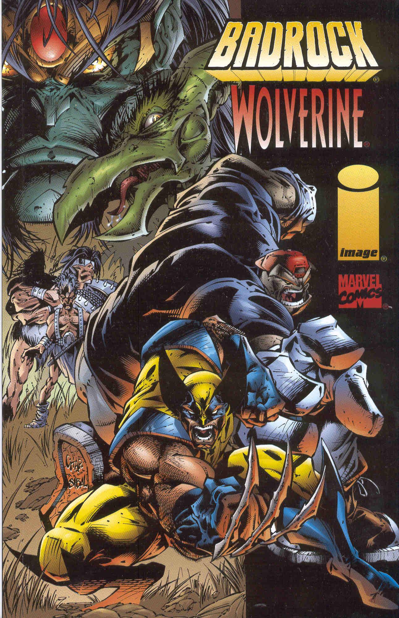 Badrock/Wolverine Full Page 1