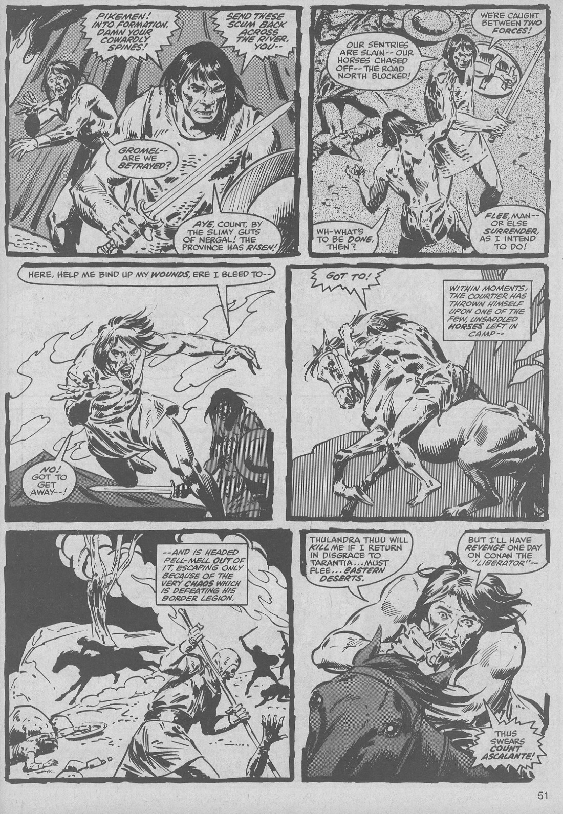 The Savage Sword Of Conan Issue #50 #51 - English 51