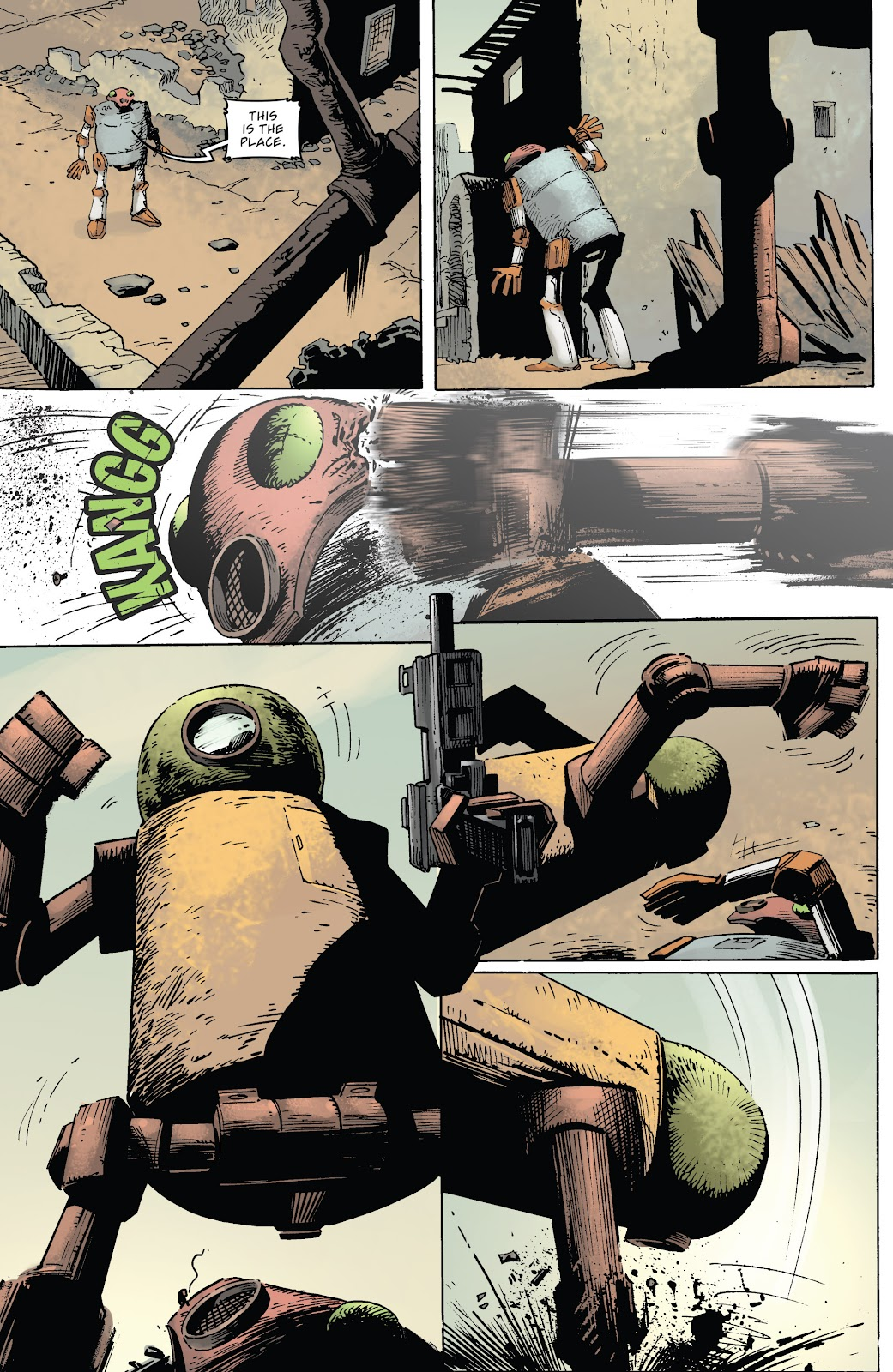 Zombies vs Robots (2015) Issue #6 Page 21