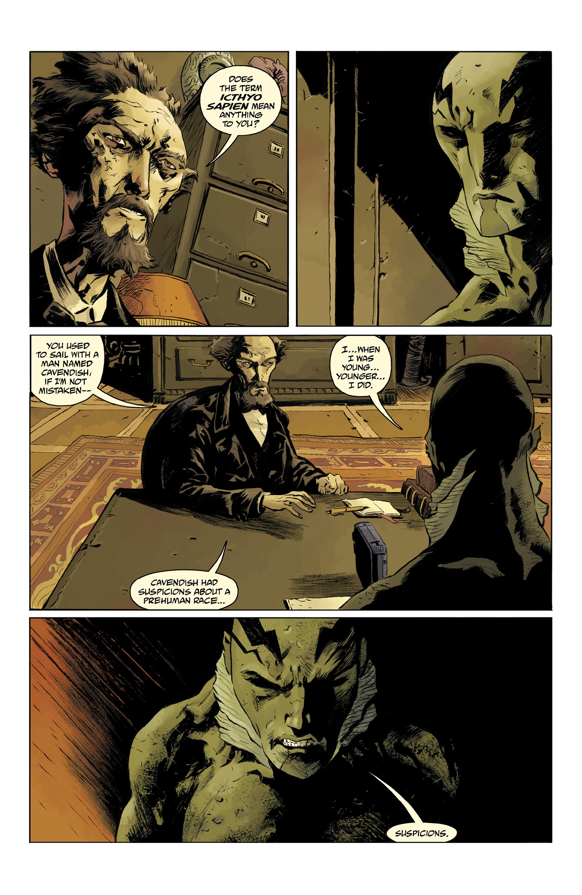 Read online Abe Sapien comic -  Issue #32 - 12