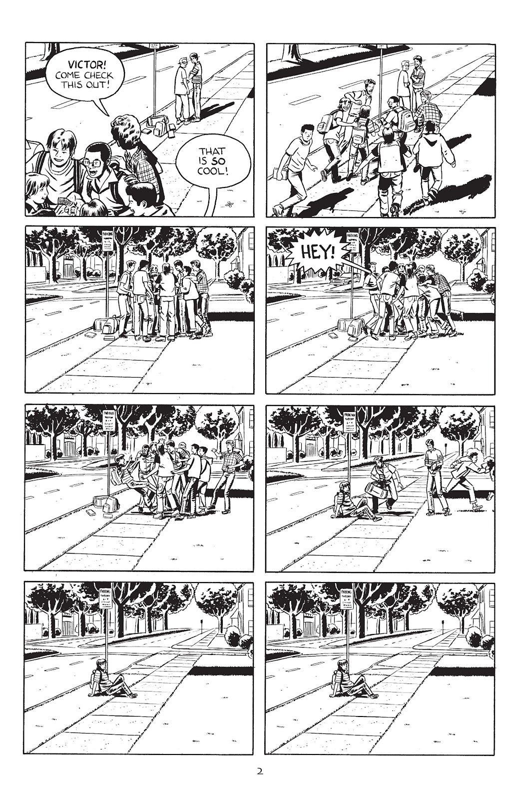 Stray Bullets Issue #30 #30 - English 4
