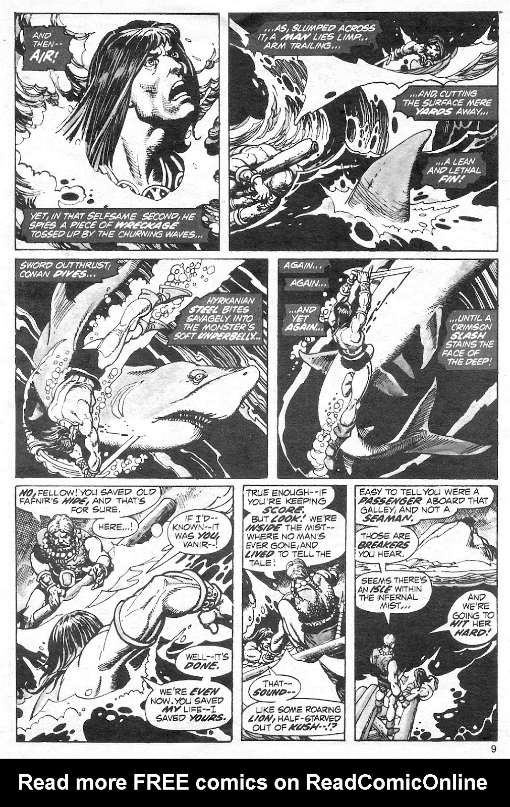 The Savage Sword Of Conan Issue #13 #14 - English 9