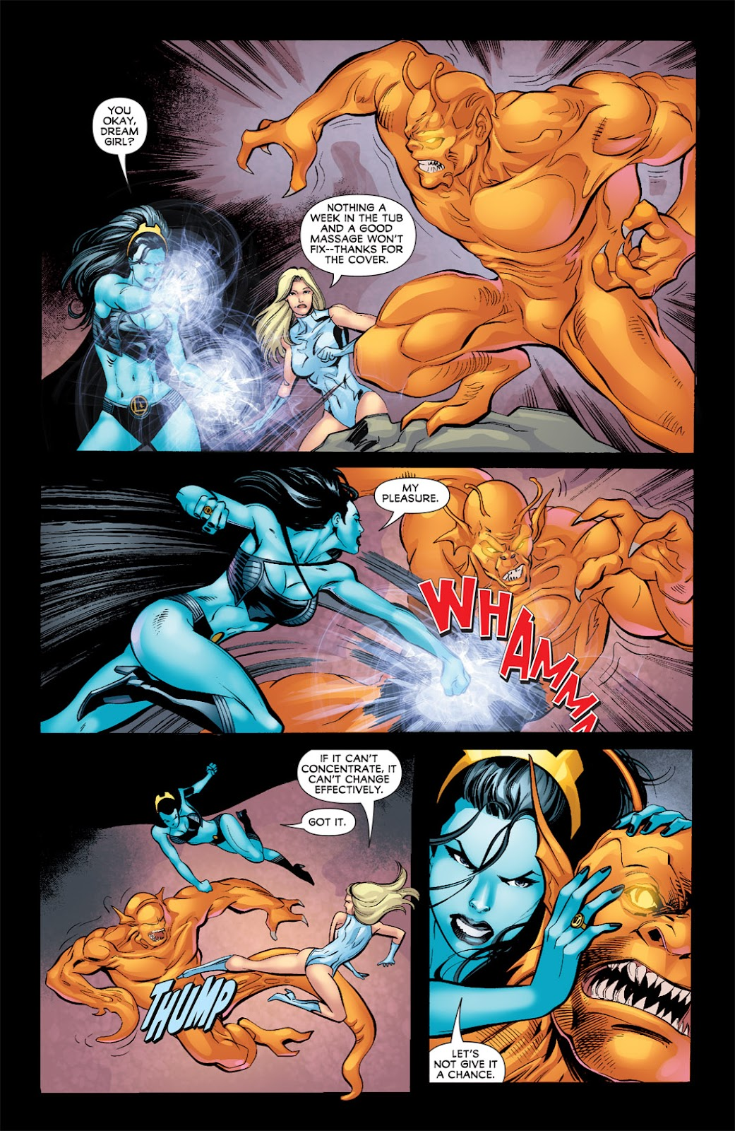 Legion of Super-Heroes (2010) Issue #8 #9 - English 22
