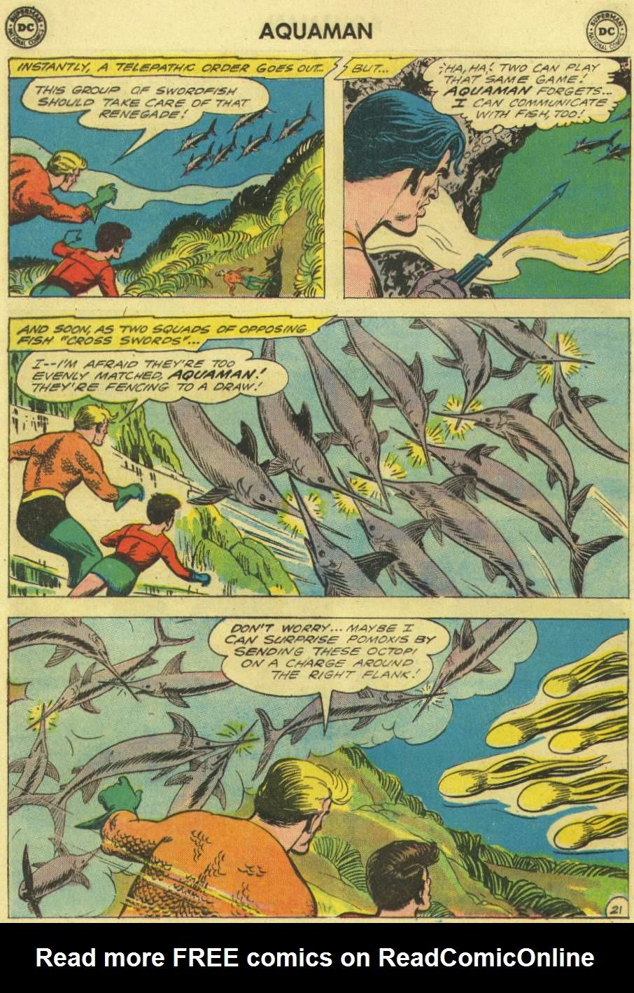 Aquaman (1962) Issue #3 #3 - English 28