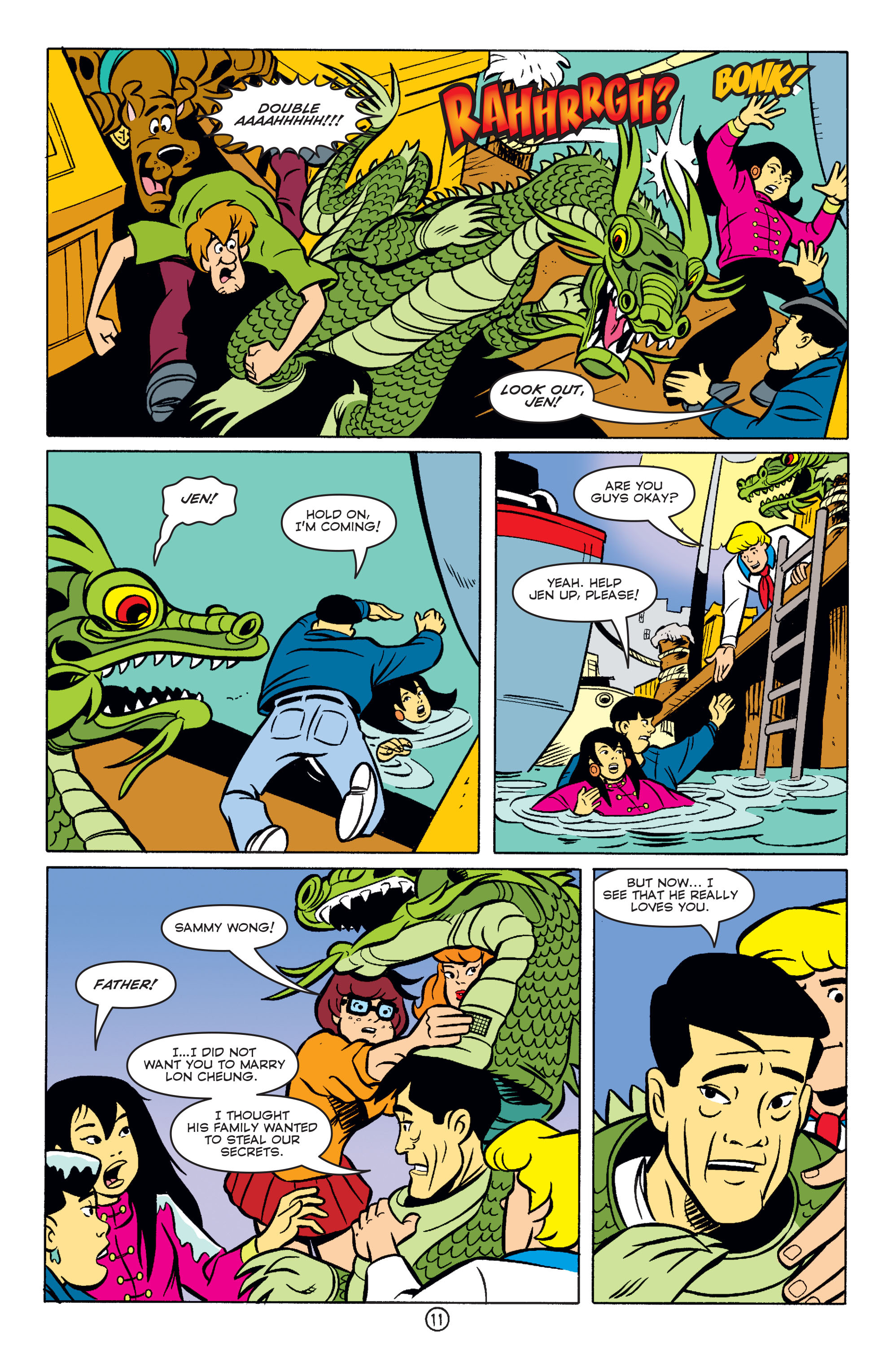 Read online Scooby-Doo (1997) comic -  Issue #57 - 12