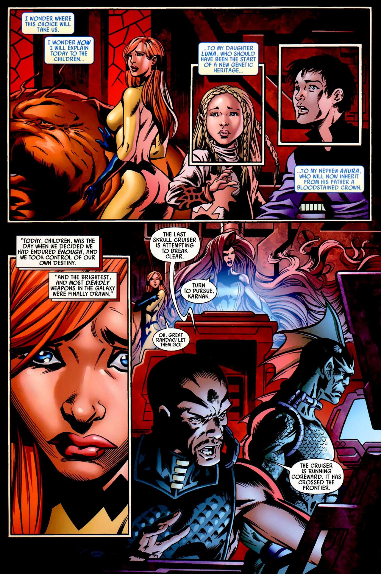 Read online Secret Invasion: War of Kings comic -  Issue # Full - 20