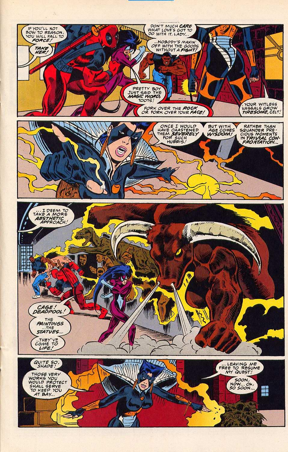 Read online Secret Defenders comic -  Issue #15 - 19