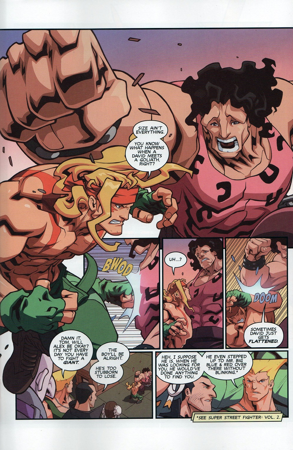 Street Fighter Unlimited Issue #8 #10 - English 15
