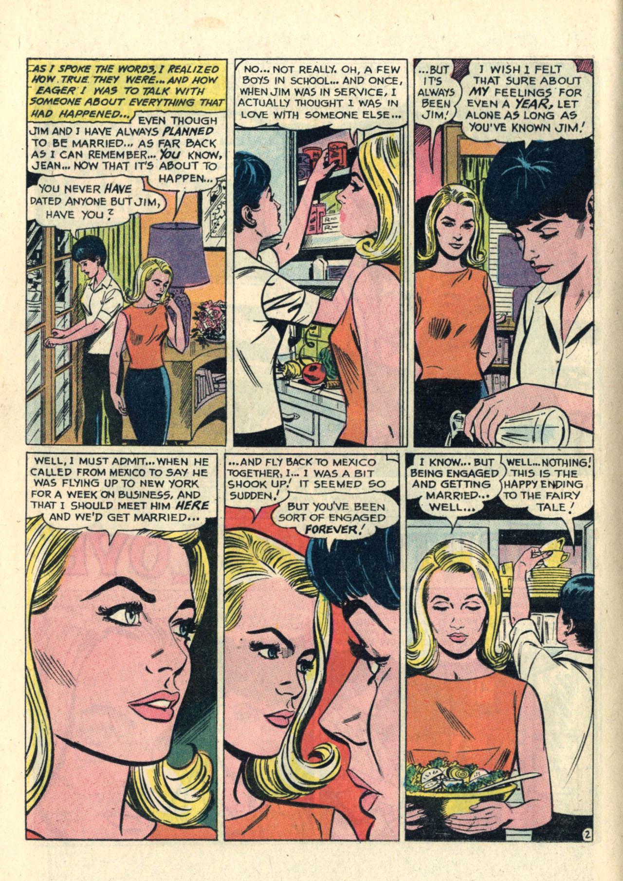 Read online Secret Hearts comic -  Issue #112 - 12