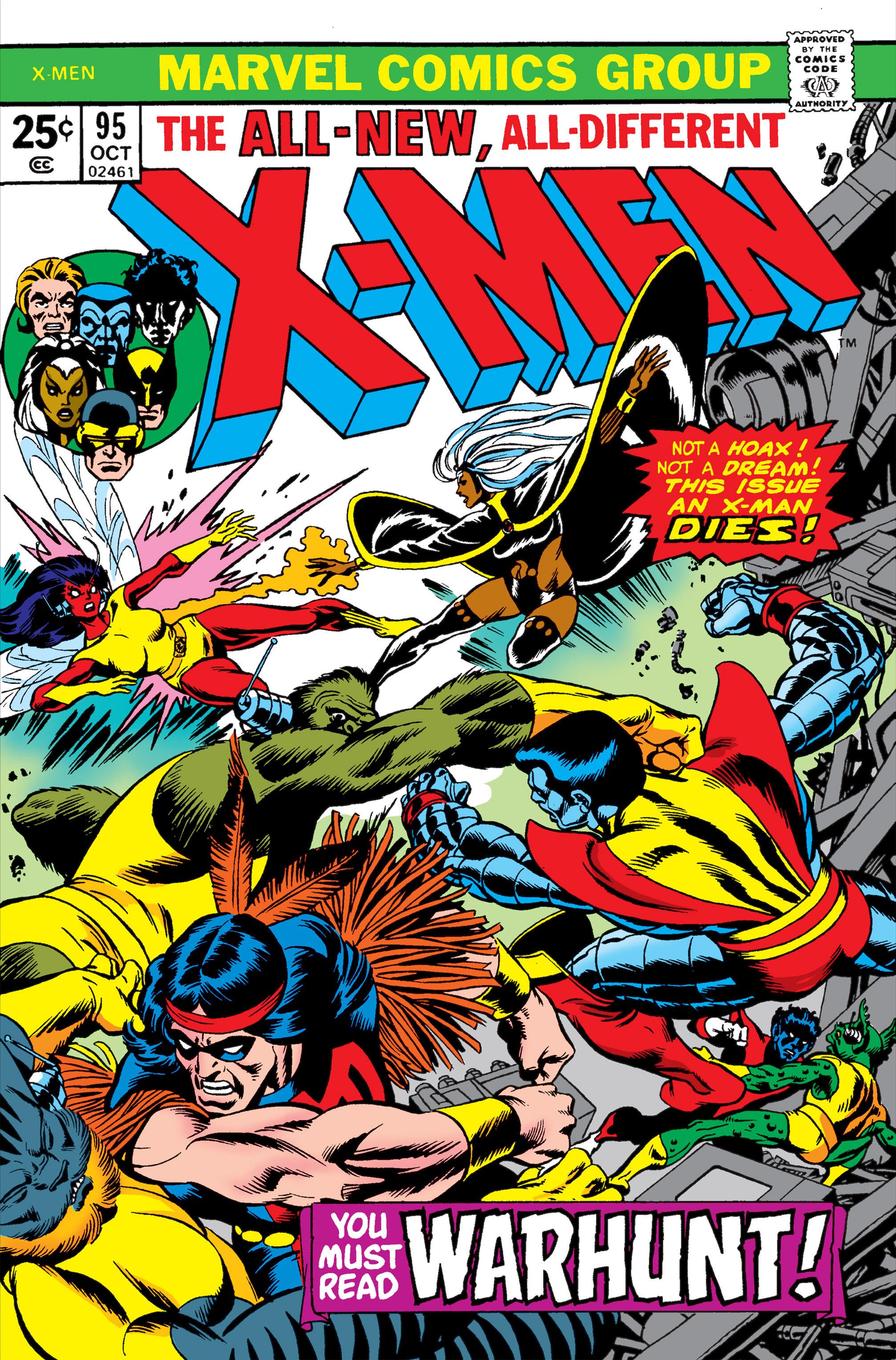 Uncanny X-Men (1963) 95 Page 1