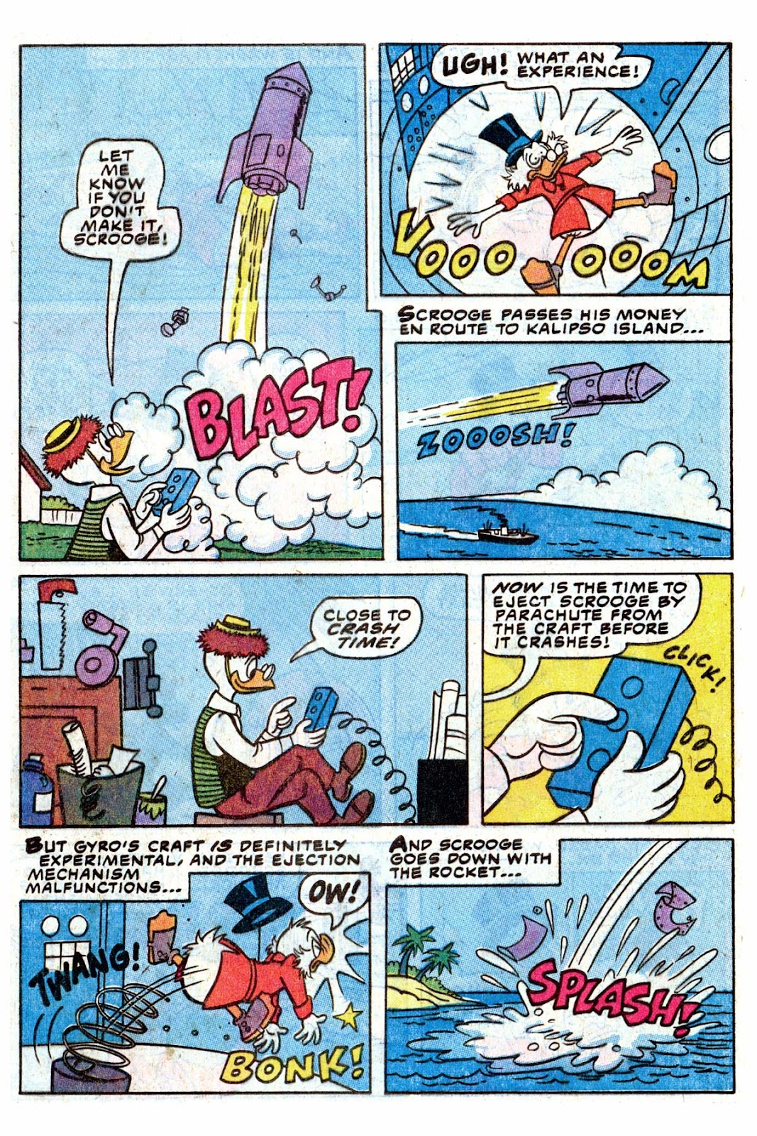 Uncle Scrooge (1953) Issue #192 #192 - English 9