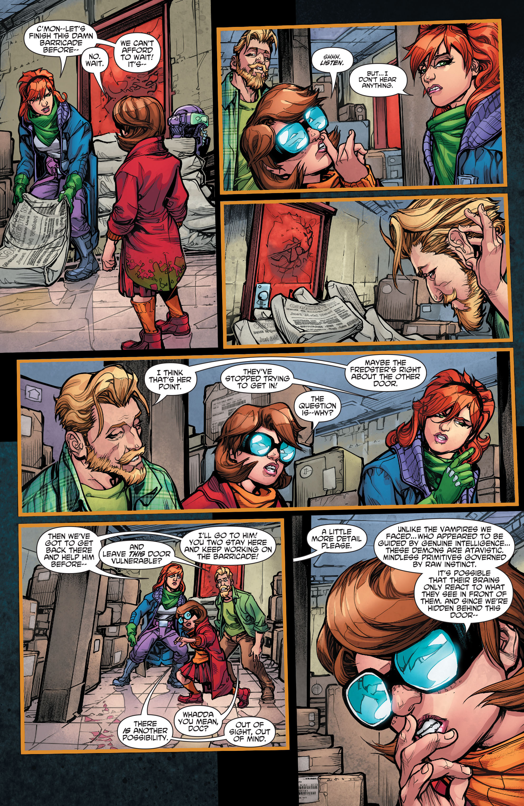Read online Scooby Apocalypse comic -  Issue #5 - 12