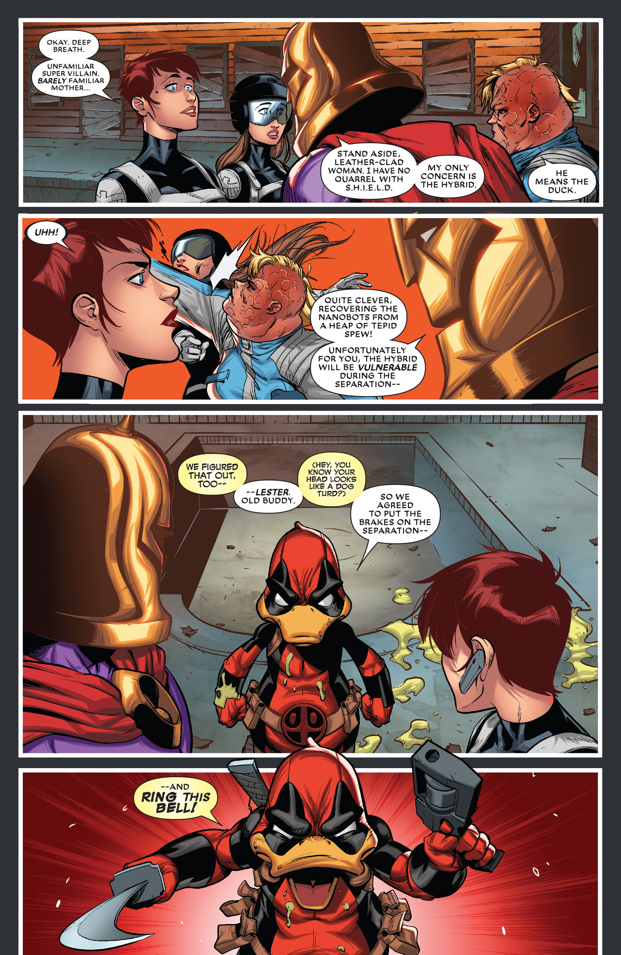 Read online Deadpool The Duck comic -  Issue #5 - 12