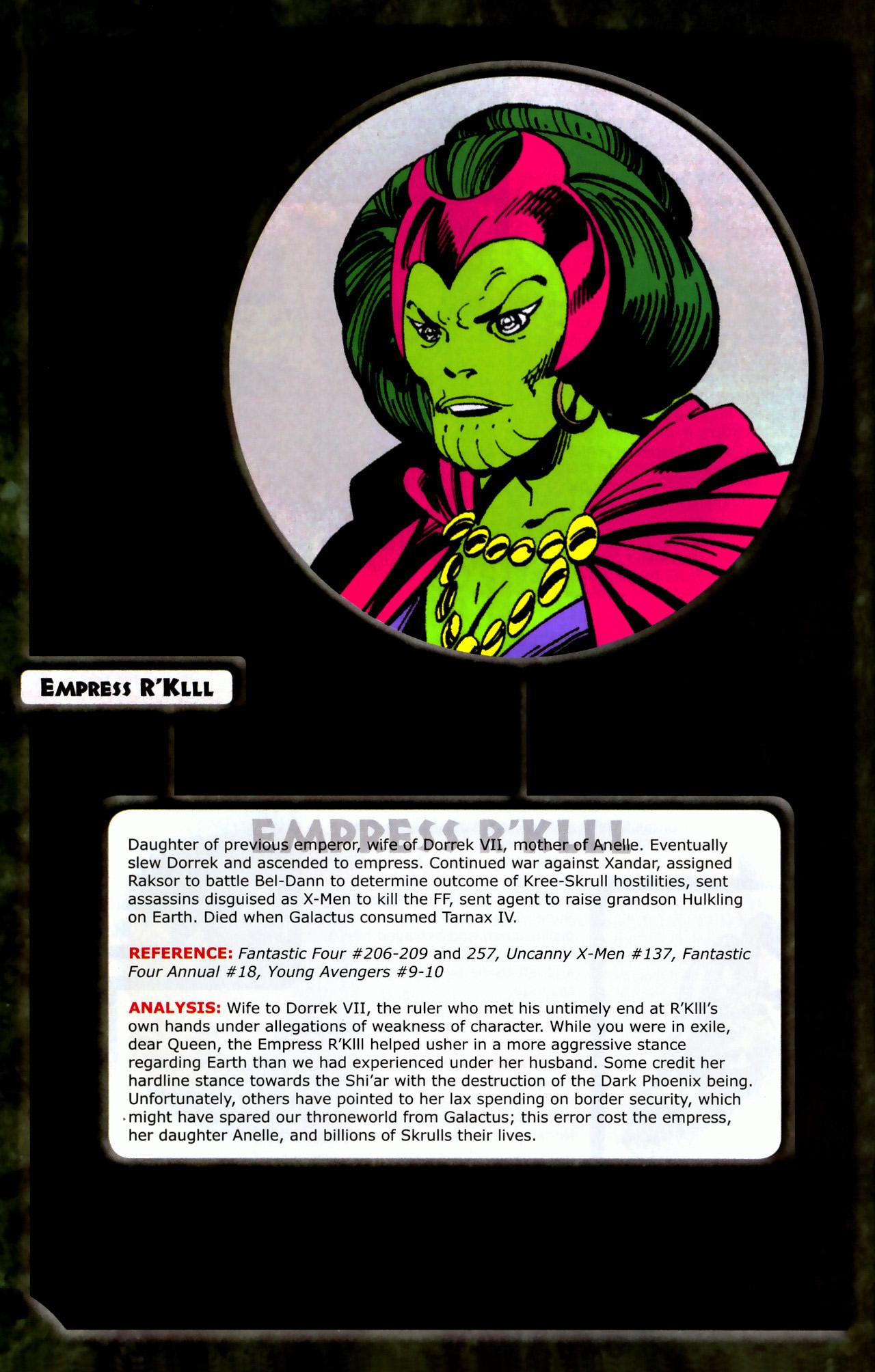 Read online Skrulls! comic -  Issue # Full - 36