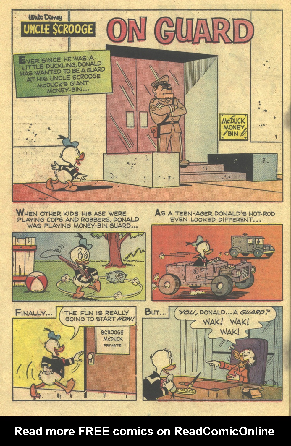 Uncle Scrooge (1953) Issue #75 #75 - English 22