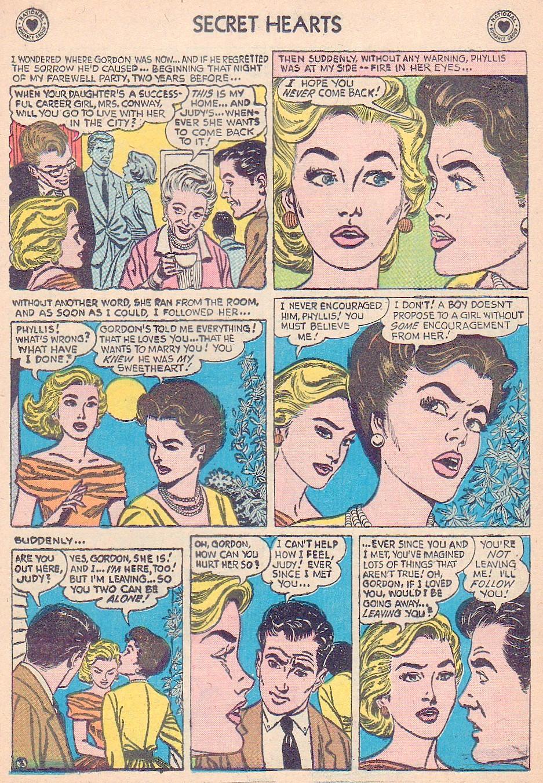 Read online Secret Hearts comic -  Issue #44 - 11