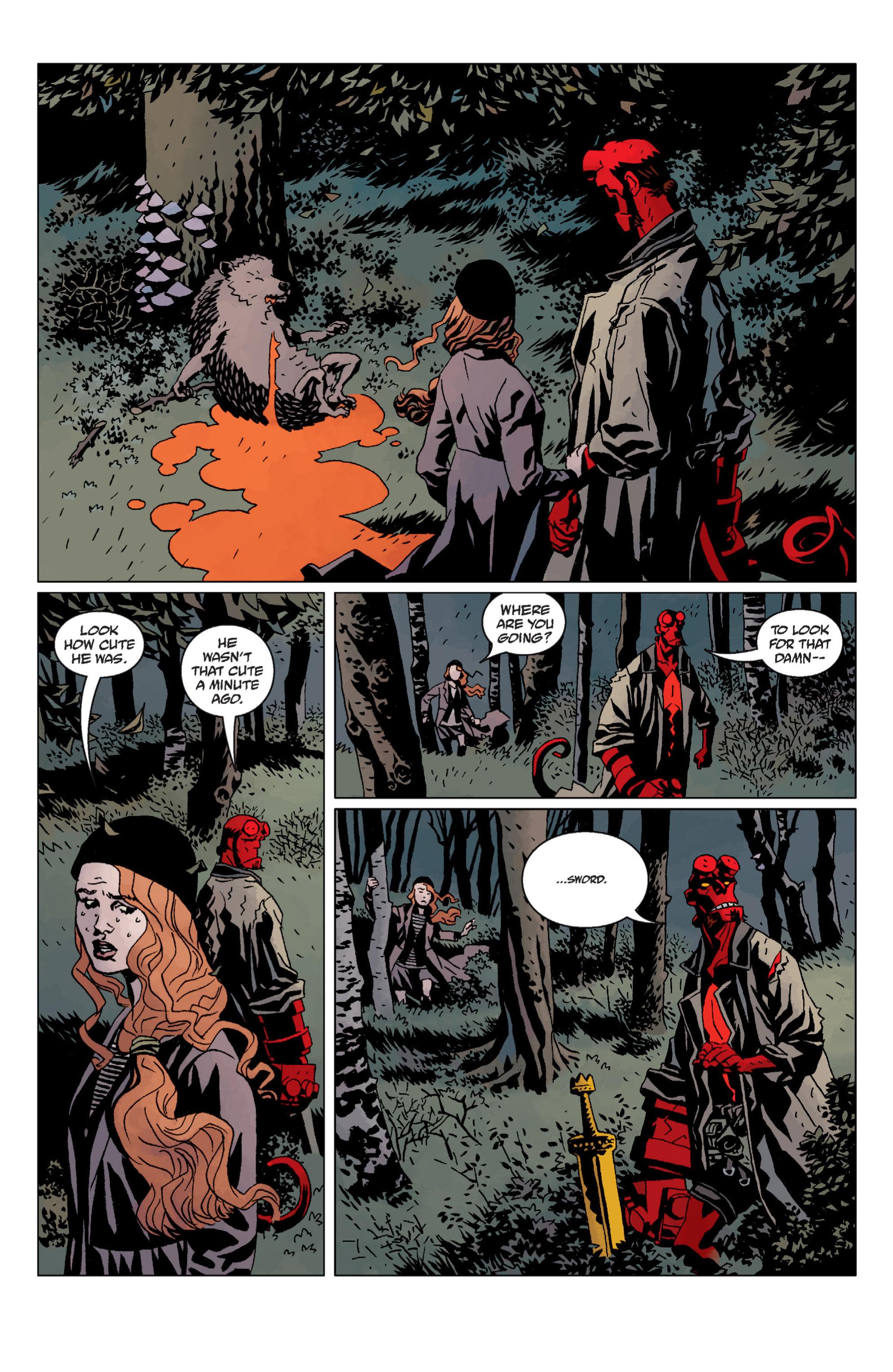 Hellboy chap 12 pic 51