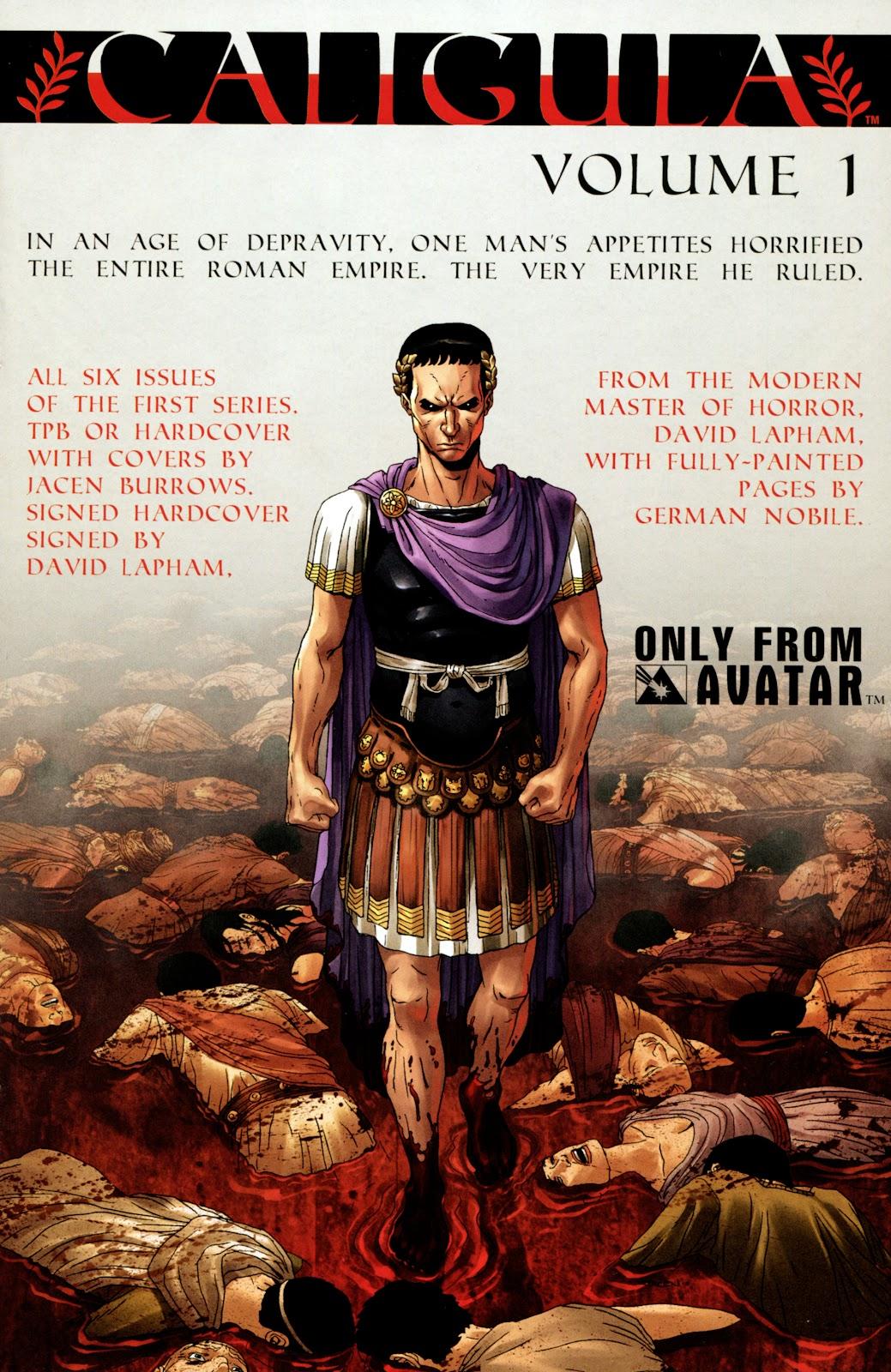 Caligula: Heart of Rome Issue #4 #4 - English 25