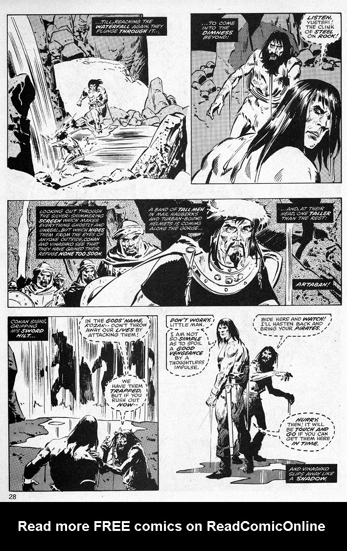 The Savage Sword Of Conan Issue #38 #39 - English 28