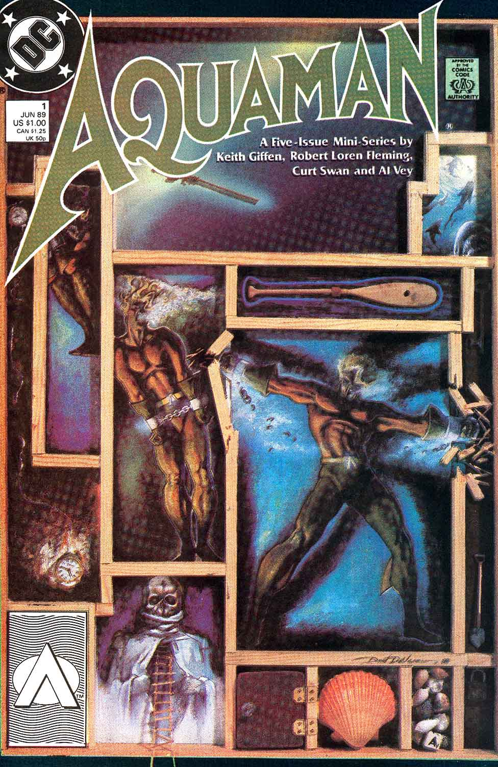 Aquaman (1989) 1 Page 1