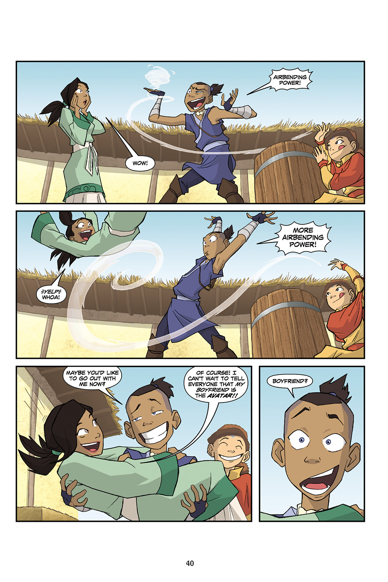 Nickelodeon Avatar: The Last Airbender - The Lost Adventures chap full pic 41