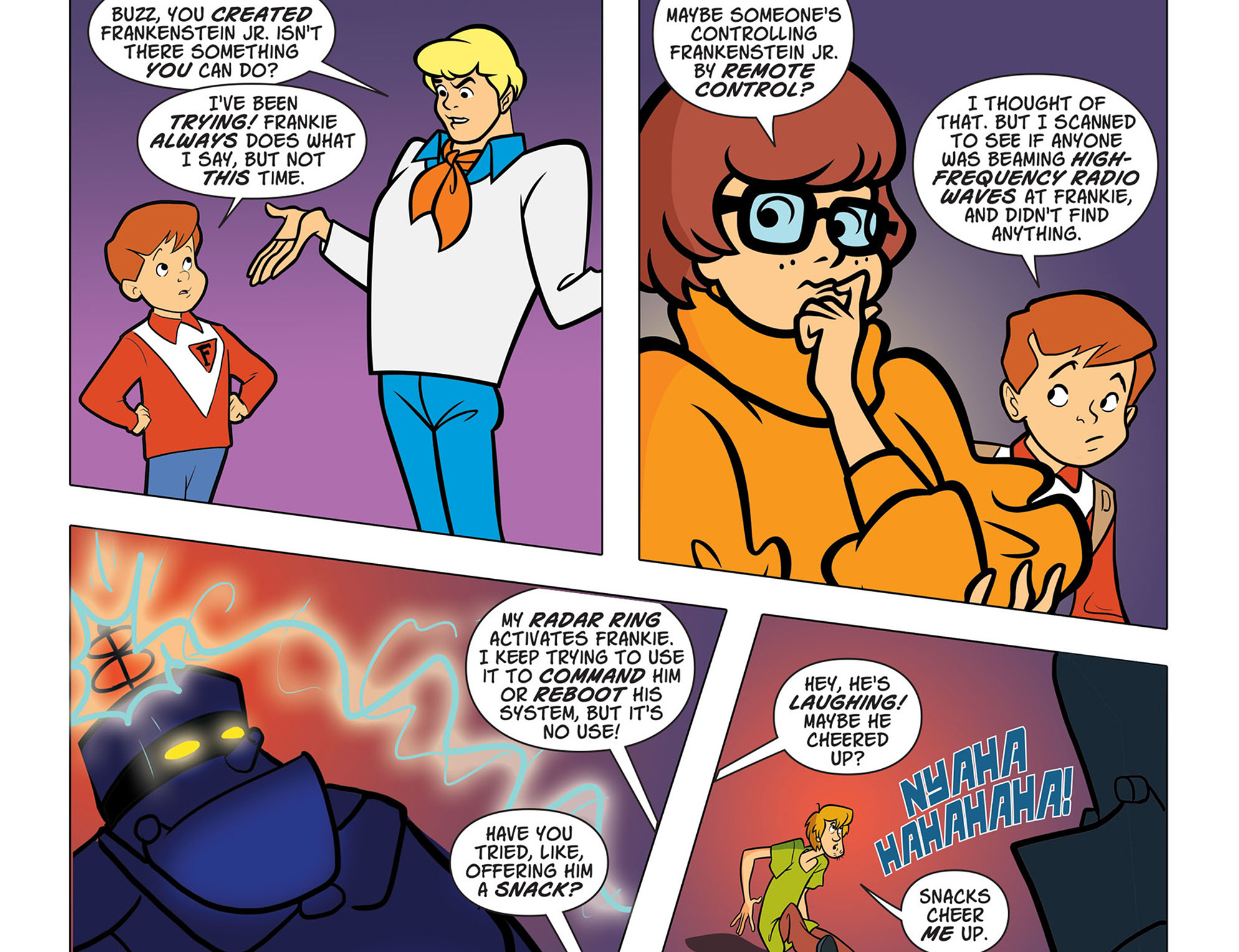 Read online Scooby-Doo! Team-Up comic -  Issue #43 - 20