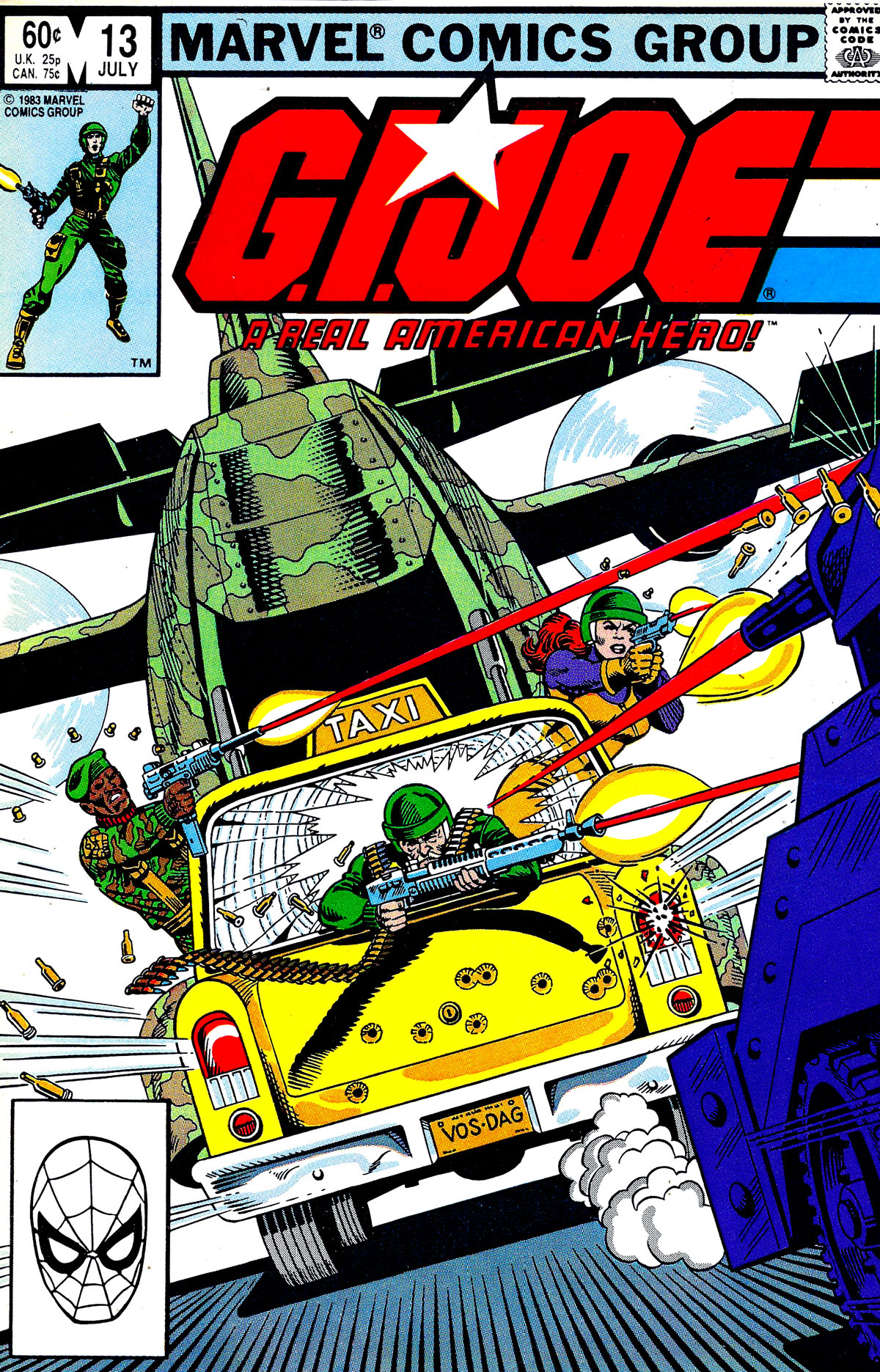 G.I. Joe: A Real American Hero 13 Page 1