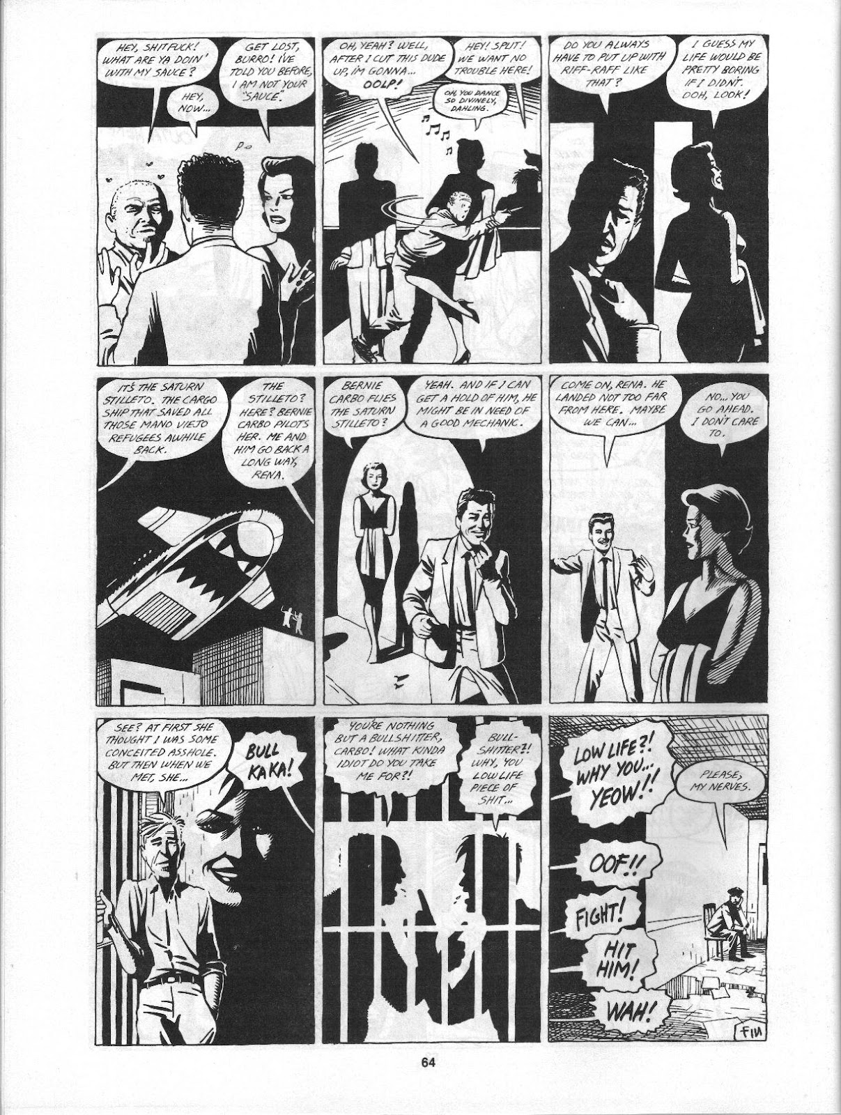 Love and Rockets (1982) Issue #3 #2 - English 66