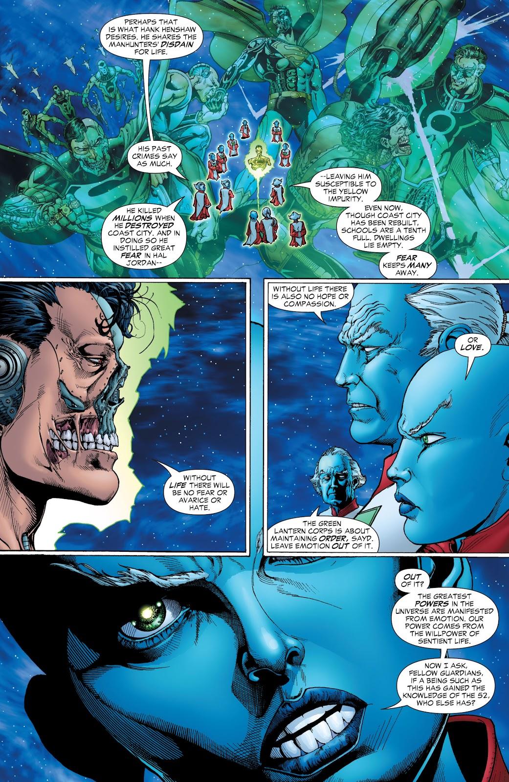 Green Lantern: The Sinestro Corps War Full #1 - English 22