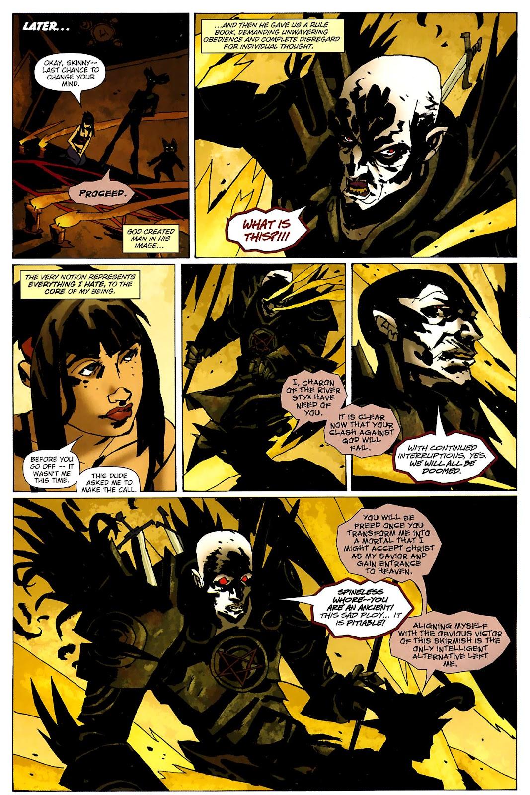 Strange Girl Issue #15 #16 - English 11