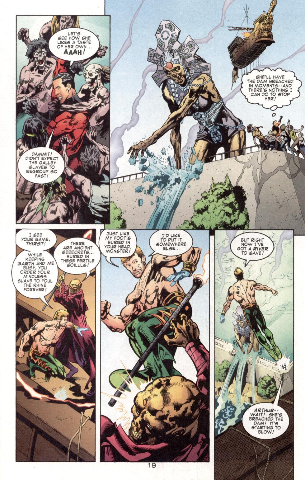 Aquaman (2003) Issue #7 #7 - English 21