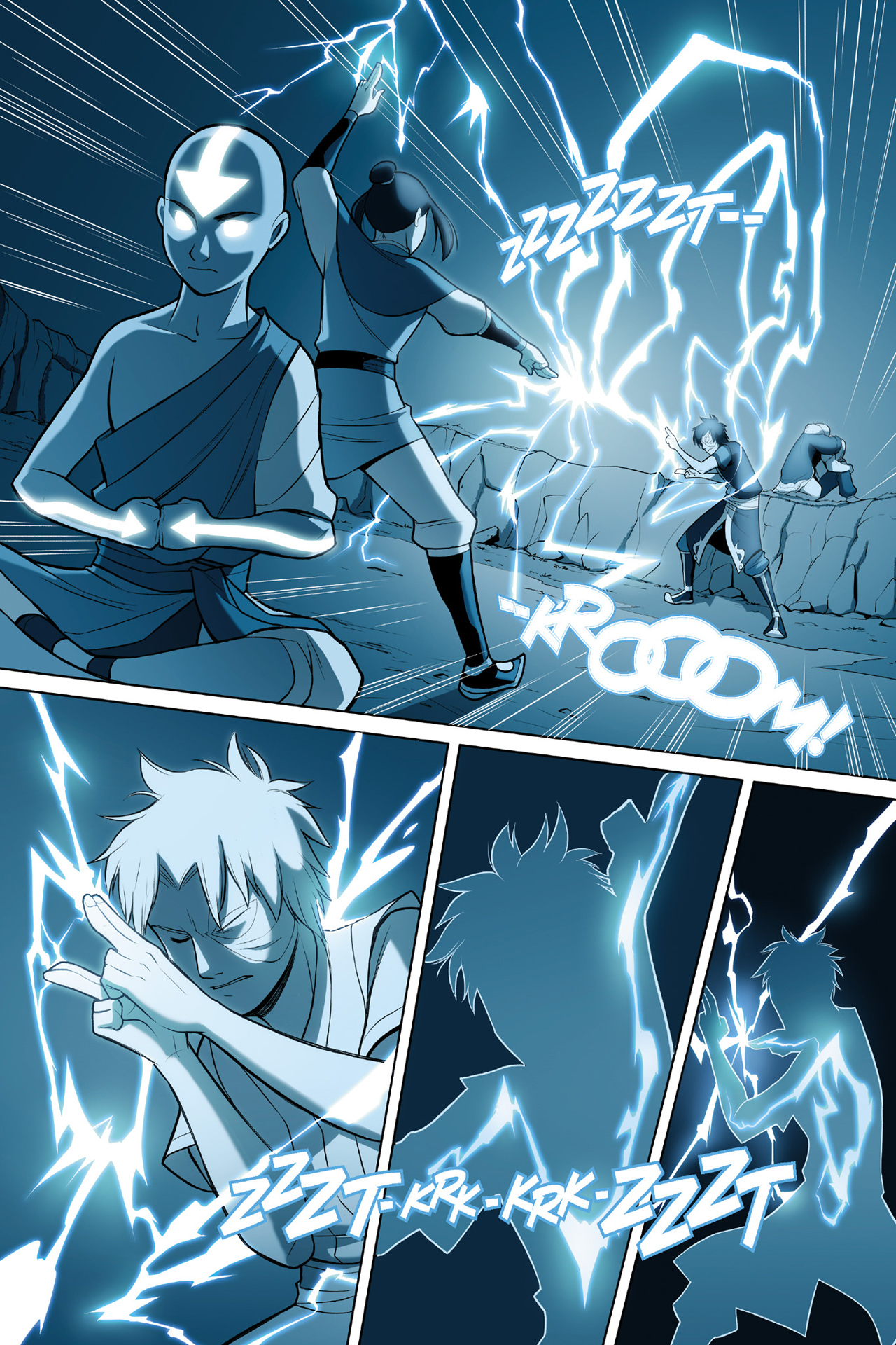 Read online Nickelodeon Avatar: The Last Airbender - The Search comic -  Issue # Part 3 - 6