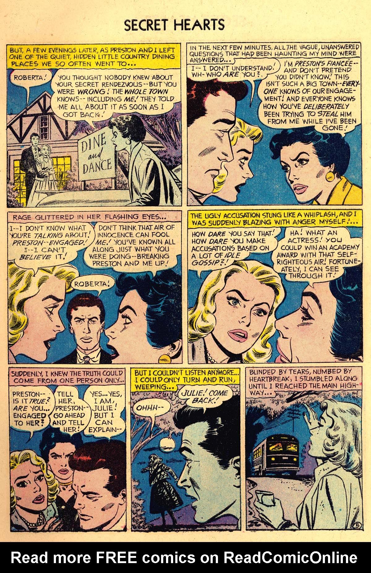 Read online Secret Hearts comic -  Issue #35 - 7
