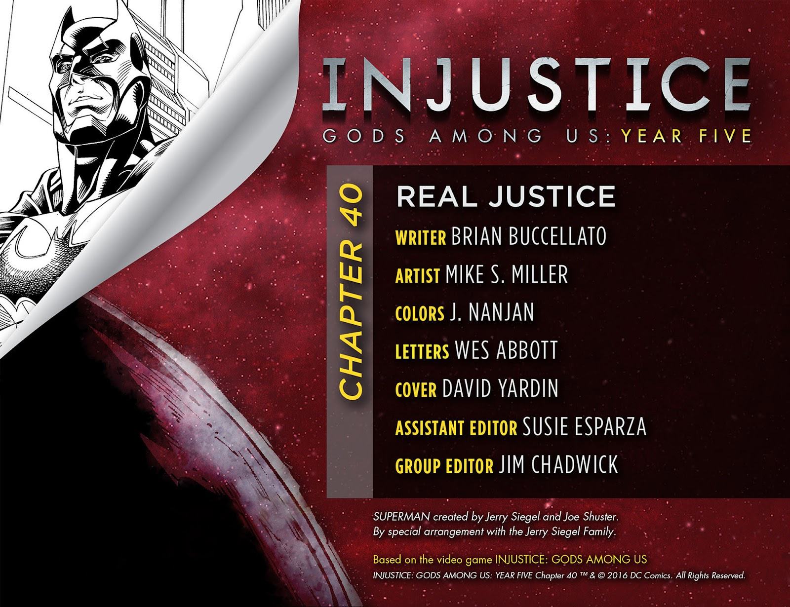 Injustice: Gods Among Us: Year Five Issue #40 #41 - English 3