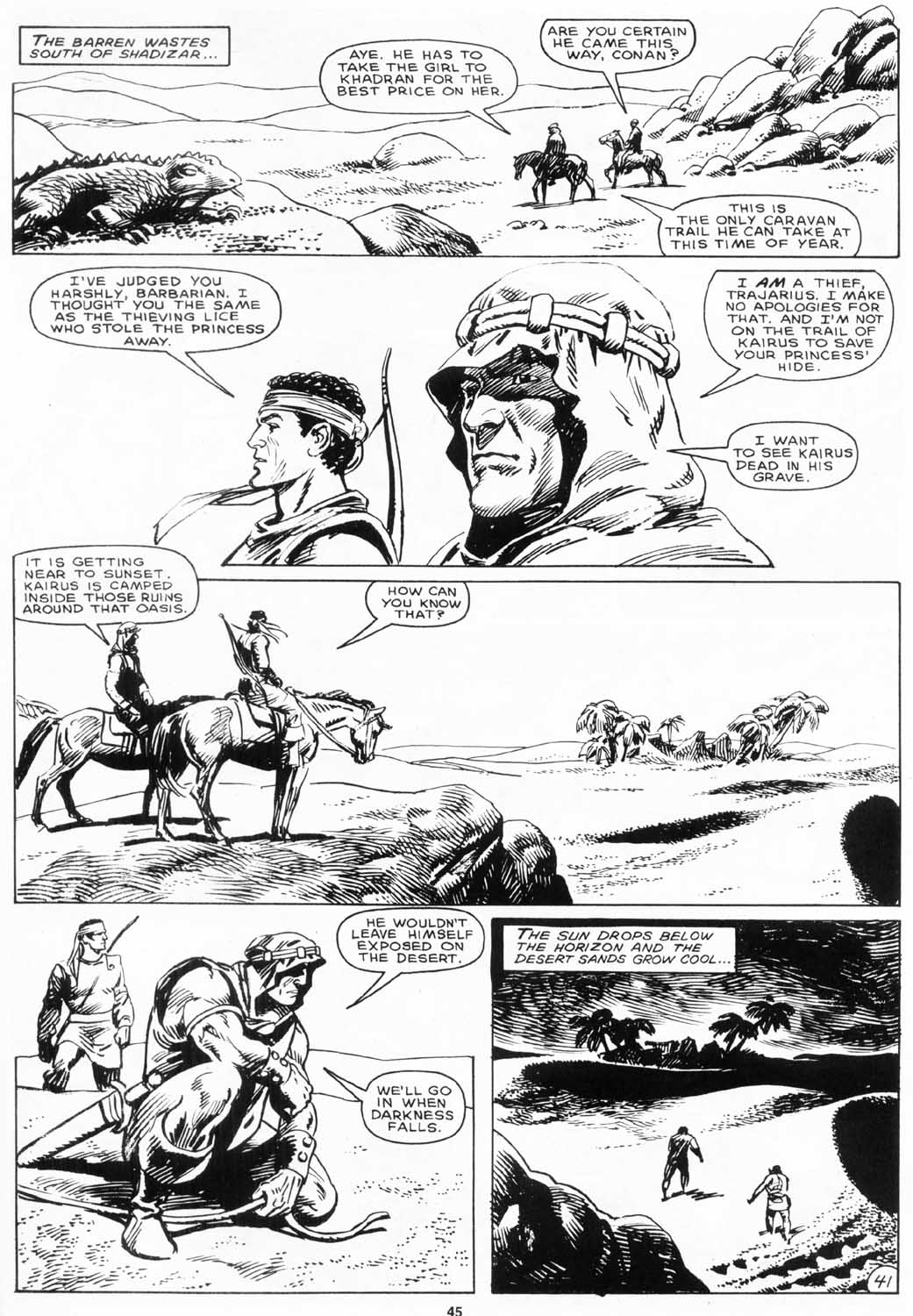 The Savage Sword Of Conan Issue #156 #157 - English 44