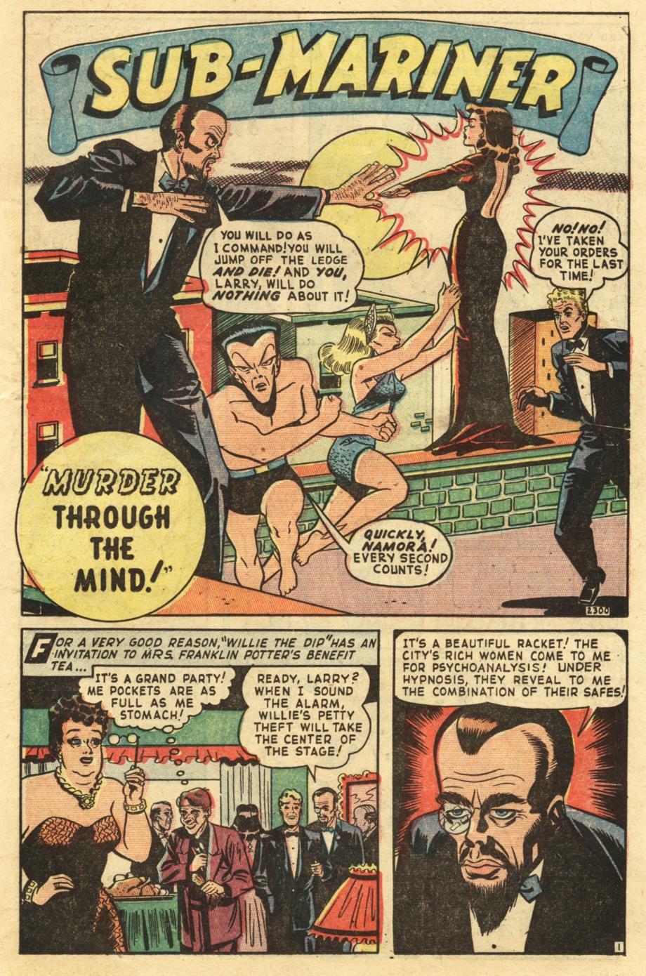 Sub-Mariner Comics #25 #25 - English 19