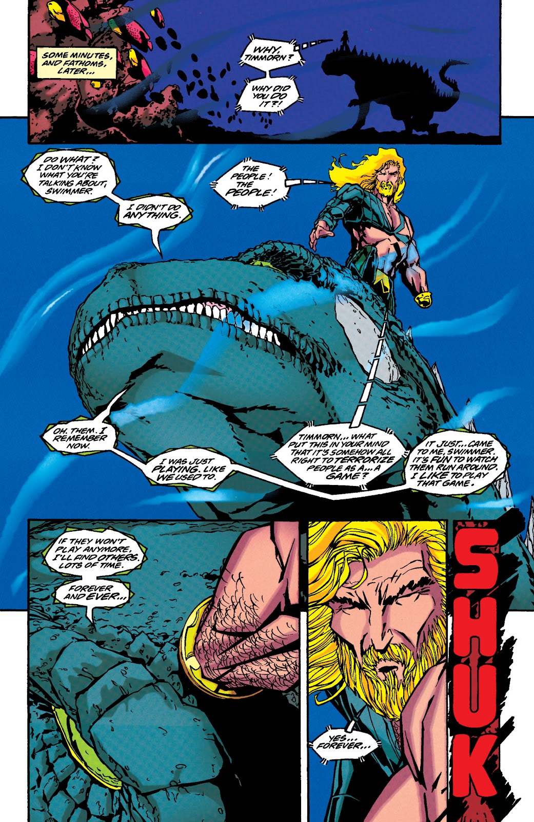 Aquaman (1994) Issue #44 #50 - English 22