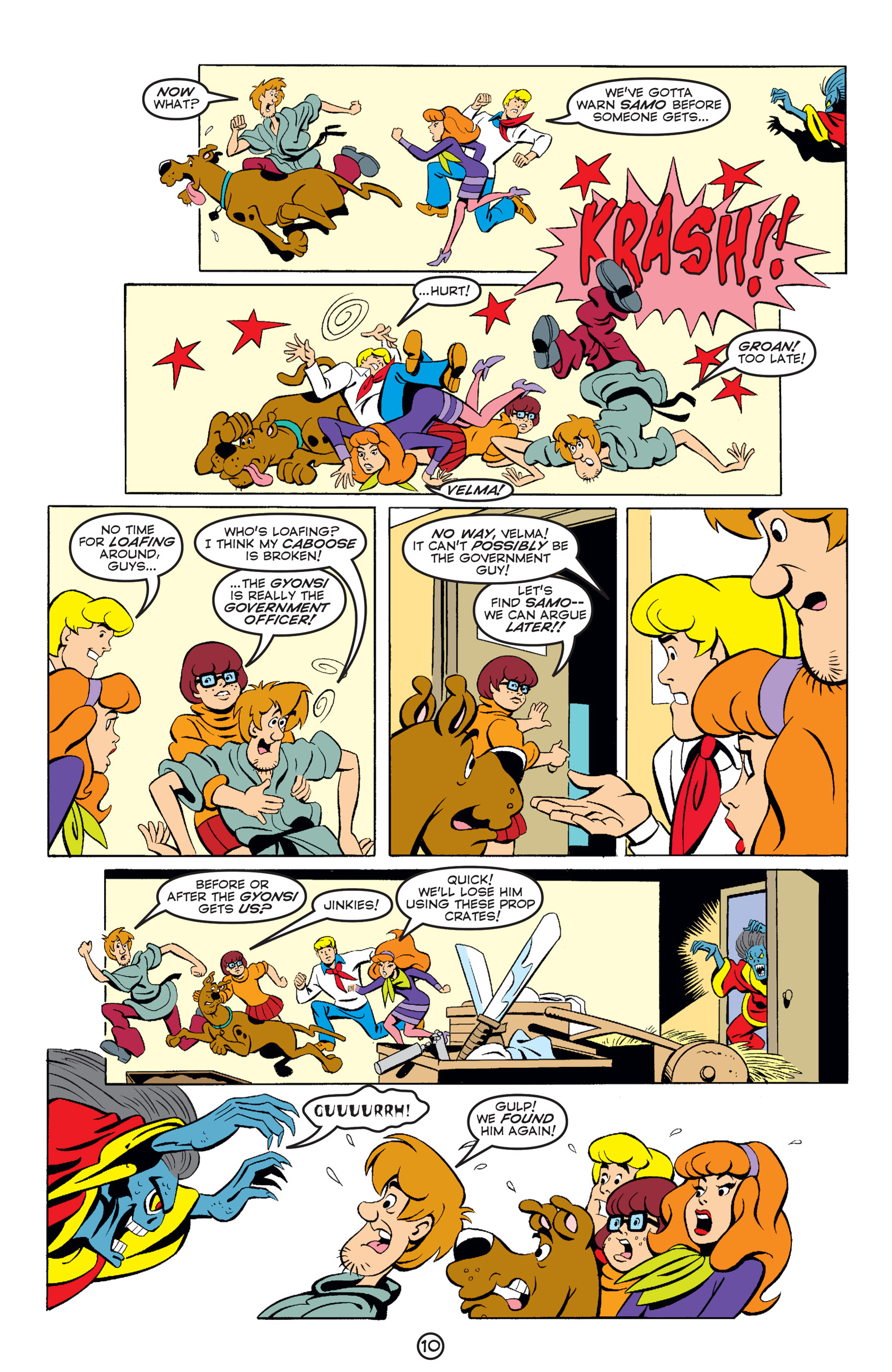 Read online Scooby-Doo (1997) comic -  Issue #59 - 11