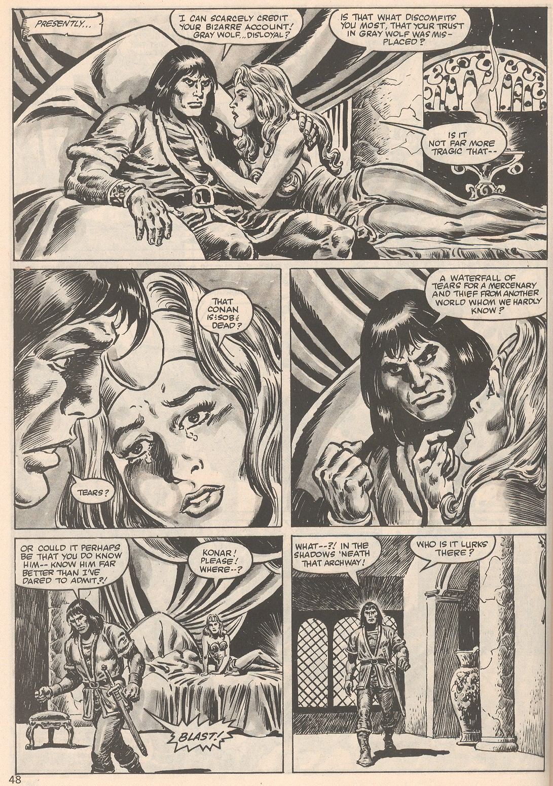 The Savage Sword Of Conan Issue #104 #105 - English 48