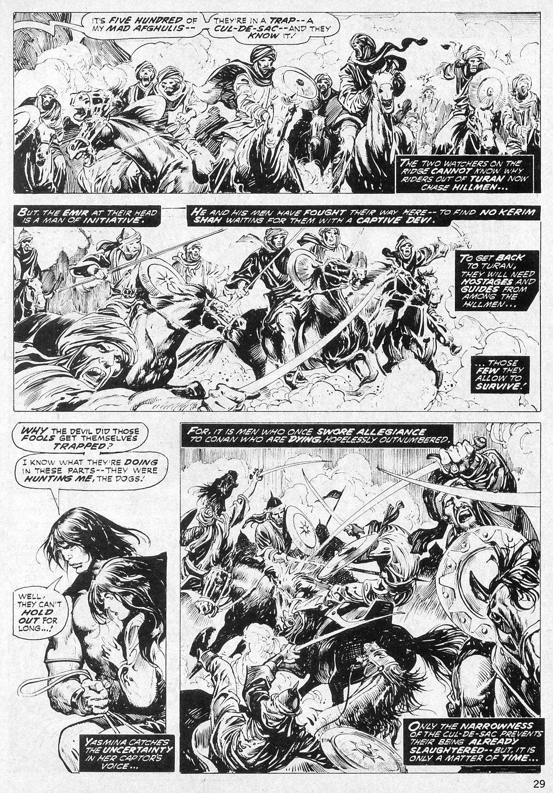 The Savage Sword Of Conan Issue #19 #20 - English 29