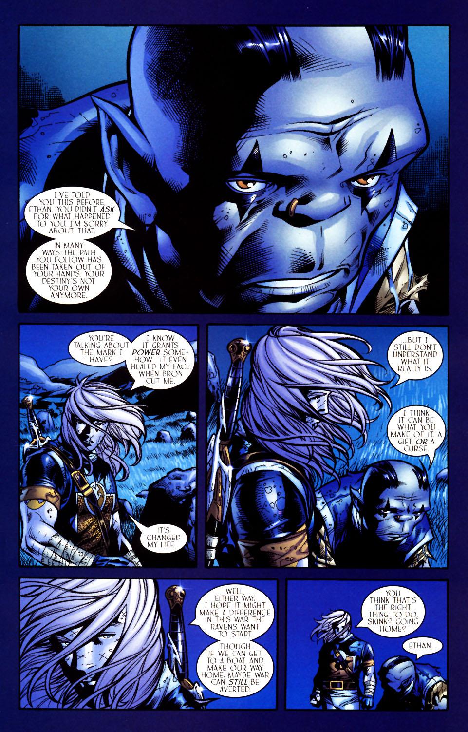 Read online Scion comic -  Issue #4 - 12
