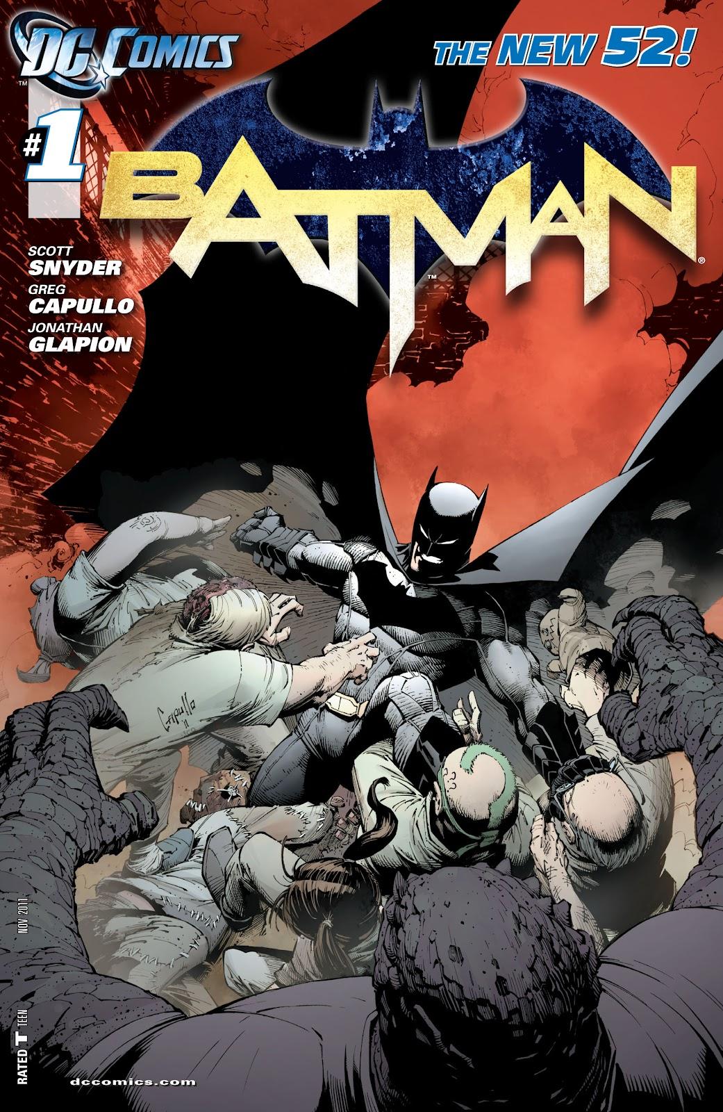 Batman (2011) Issue #1 #16 - English 26