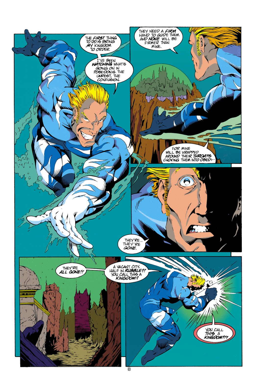 Aquaman (1994) Issue #14 #20 - English 9