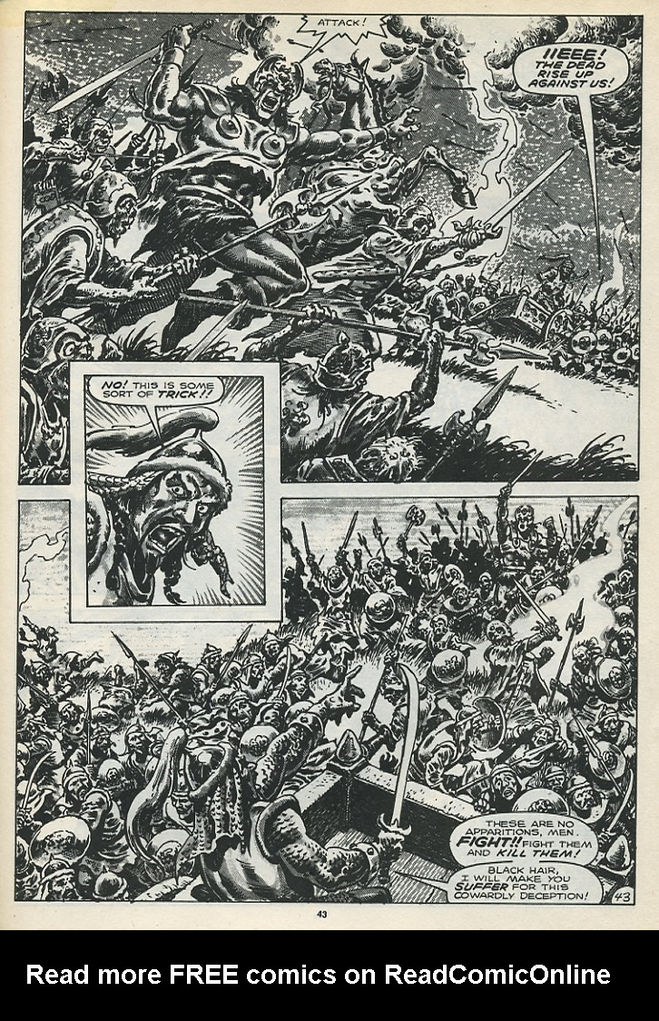 The Savage Sword Of Conan Issue #173 #174 - English 45