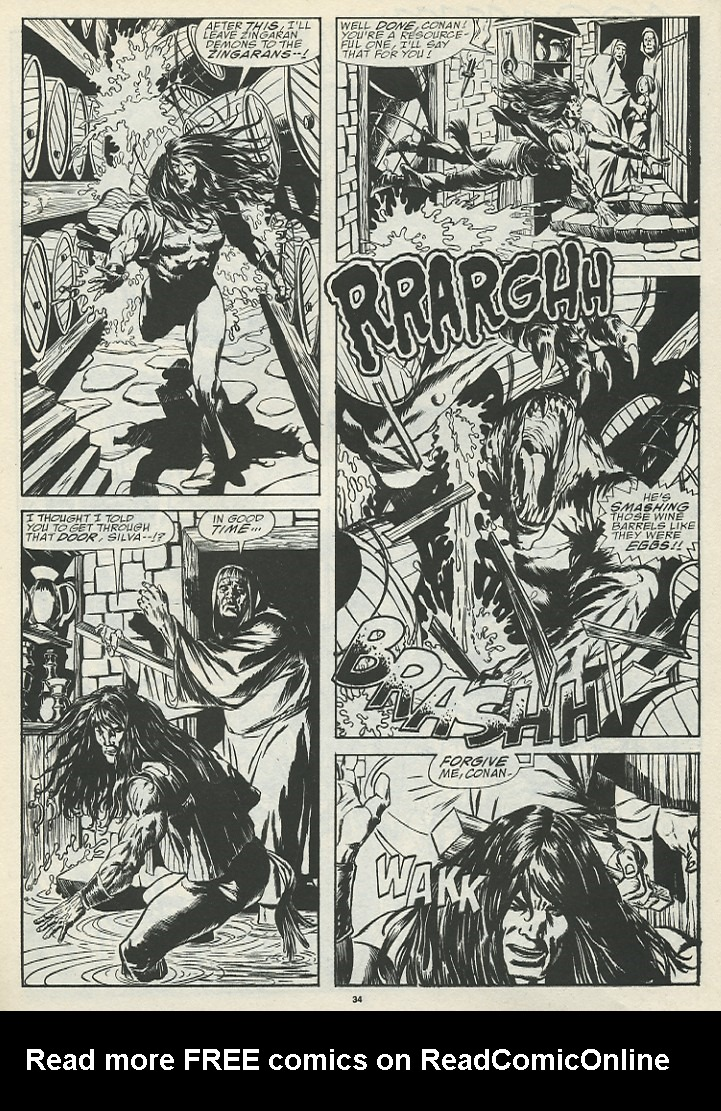 The Savage Sword Of Conan Issue #185 #186 - English 36