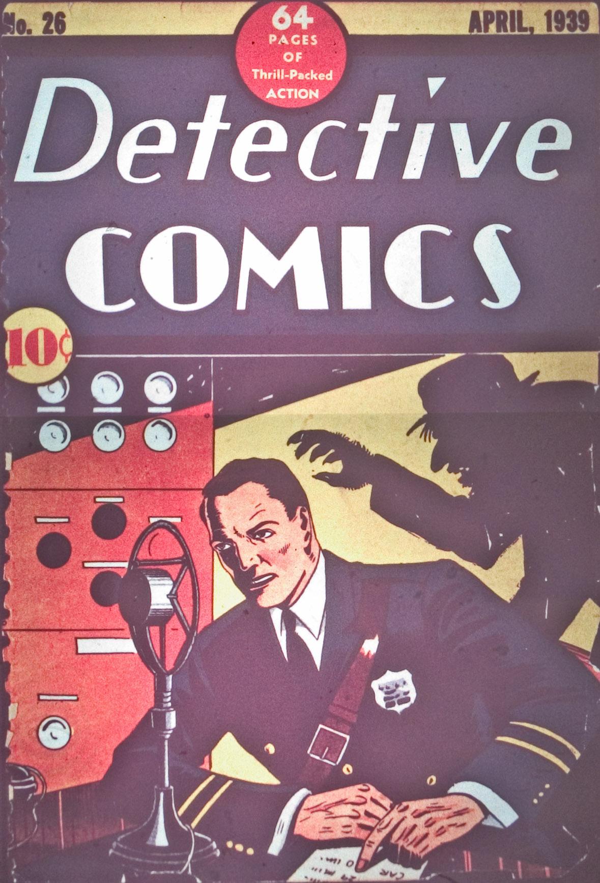 Detective Comics (1937) 26 Page 1